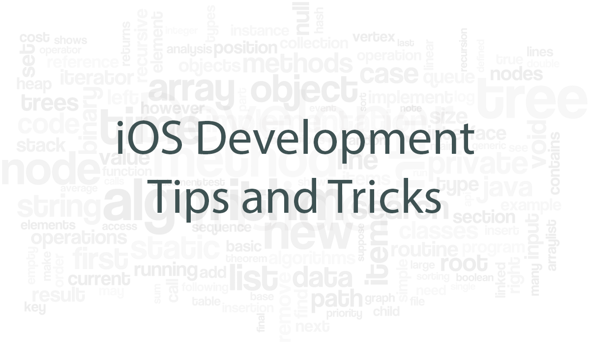 Best iOS Development Tips and Tricks
