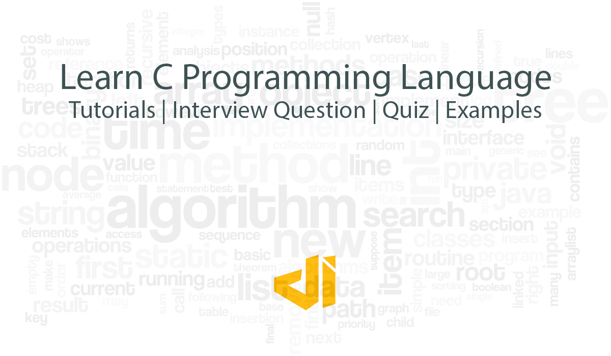 Learn C and C++ programming language by Tutorials, Quiz and