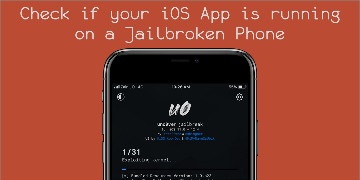 Best way to check if your iOS App is running on a Jailbroken Phone
